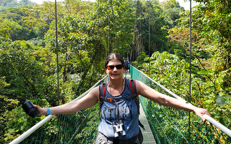 Hanging Bridge, Sky Adventure Park