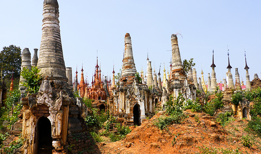 Shwe Inn Thein-Pagoden Indein