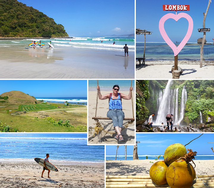 Lombok Collage