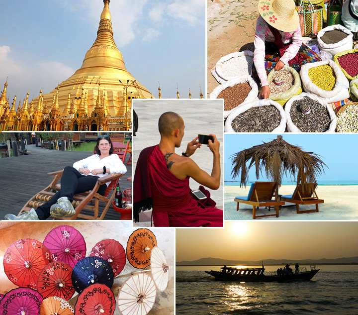 Myanmar Collage